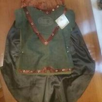 Magiquest Tunic & Cape Set Costume Castle Medieval Fantasy S/m 6 7 8 Nwt Photo