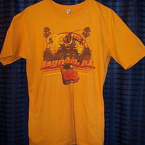 Magnum P I Pi Tv Show Tom Selleck Ferrari Shirt Yellow (Aaa) Size Large Photo