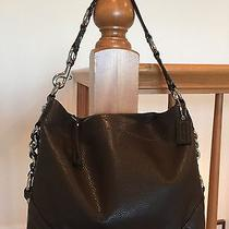 Mahogany Brown Coach Carly Leather Hobo Handbag Outstanding Condition 15251 Photo