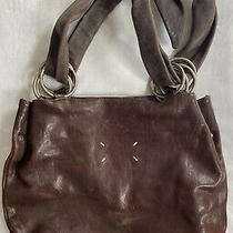 Maison Martin Margiela Brown Leather Bag With Rings Photo