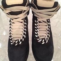 Maison Martin Margiela Custom Black Chain Sneakers Photo