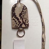 Maison Martin Margiela Key Ring Lanard / Tag Snakeskin Print on Leather Photo
