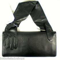 Maison Martin Margiela Mmm for h&m Black Leather Glove Clutch Handbag Nwt Photo