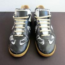 Maison Martin Margiela  Paint Brush Leather Sneakers Size 44 Photo