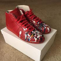Maison Martin Margiela Paint Splatter (Red) Size 46 Photo