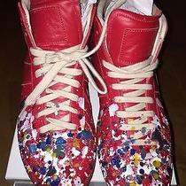 Maison Martin Margiela Paint Splatter Sneakers 39 Photo