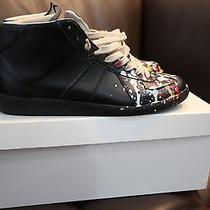 Maison Martin Margiela Paint Splatter Sneakers 41.5 Photo