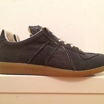 Maison Martin Margiela Sneakers Replica Made in Italy Black Gum Sole Eu 41 Photo