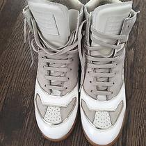 Maison Martin Margiela White Sneakers With Gum Sole Size 42 Like New Photo
