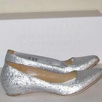 Maison Martin Margiela X h&m Silver Glitter Shoes Removed Heel and Necklace 37 6 Photo