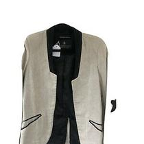 Maison Scotch Linen Blazer Jacket Uk Size 8  Photo