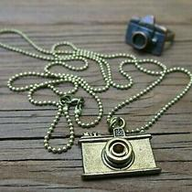 Maison Scotch (Scotch & Soda) Camera Necklace and Ring Photo
