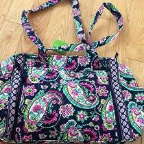 Make a Change Baby Bag Petal Paisley Travel Tote Nwt Retail 118.00 Photo