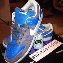 Make Me an Offfer 2006 Nike Sb Aqua Chalk Dunk Lows Sz 13 Jordan Yeezy Cement Photo