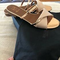 Malone Souliers Rose Gold Sandals Flat Size 40 Photo