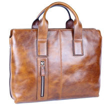 Man Briefcase Man Business Bag Man Natural Pattern Genuine Cow Leather Ble2919r Photo