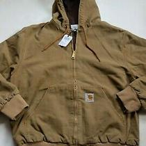 Man Jacket Carhartt Active Jacket (Hamilton Brown Aged Canvas) Size Xxl Photo