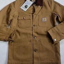 Man Jacket Carhartt Choreography Coat (Hamilton Brown Rigid) Size Xs Photo