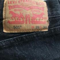Man Levis Size 29x30  501xx Denim Jeans Vintage Photo