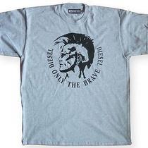 Man's Gray Diesel T-Shirt Photo