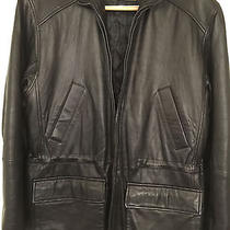 Man's Leather Jacket-  Dark Brown- Columbia/s Photo