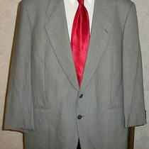 Mani Giorgio Armani Solid Light Gray Sport Coat Jacket Wool Blend Italy 42 R Photo