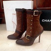 Manolo Blahnik Boots.  Beautiful Photo