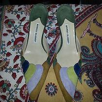 Manolo Blahnik Designer Shoes Photo