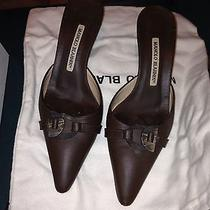 Manolo Blahnik Womens Shoe New Price Drop Photo