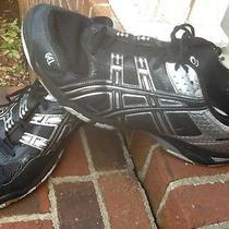 Mans Asics Size 13 Black/silver Photo