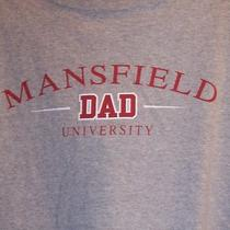 Mansfield University Dad Fathers Day Gift Pre Loved T Shirt  Photo