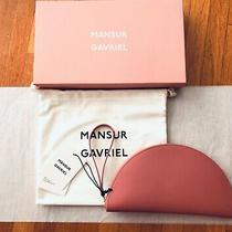 Mansur Gavriel Bnib Moon Wallet Leather Blush Regular Size Sold Out/dc'd Photo