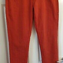 Mantaray Orange ' Brighton the Skinny ' Jeans Size 12 R Photo