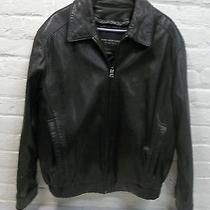 Marc Andrew Insulated Soft Leather Jacket Black Large Photo