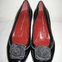 Marc by Marc Jacobs Black Patent Leather Classic Pumps Shoes Women's Size 38.5 Photo