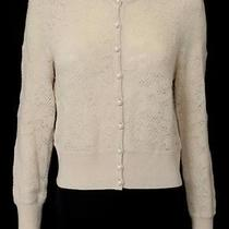 Marc by Marc Jacobs Blush Wool Open Knit Cardigan Size Large Photo