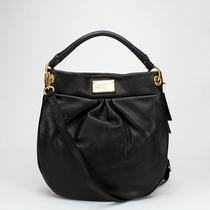 Marc by Marc Jacobs Classic Q Hillier Hobo Black Nwt 428 Photo