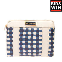 Marc by Marc Jacobs Clutch Bag Tablet Case Check Pattern Lightly Padded Zipped Photo
