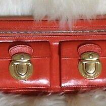 Marc by Marc Jacobs Continental Top Zip Long Wallet Clutch Poppy Red Photo