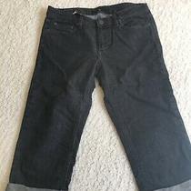 Marc by Marc Jacobs Cropped Black Denim Jeans - Size 28 Photo