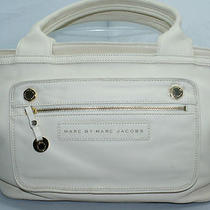 Marc by Marc Jacobs Gettysburg Beige Cream Tote Hobo Satchel Handbag Bag New Photo
