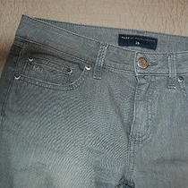 Marc by Marc Jacobs Gray Capris Cropped Pants Skinny Stretch Size 28 Womens  24