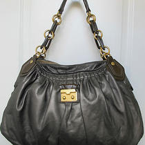 Marc by Marc Jacobs Hobo Nappa Leather Antique Bronze Shoulder Handbag Photo
