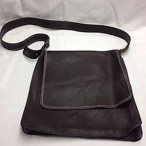 Marc by Marc Jacobs Leather Brown Messenger Shoulder Computer Bag Authentic New Photo