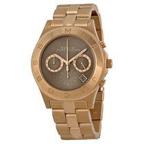 Marc by Marc Jacobs Mbm3308 Blade Brown Dial Rose Gold Tone Watch 275 Photo