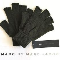 Marc by Marc Jacobs Olive Army Green Fingerless Gloves - Brand New Photo