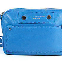 Marc by Marc Jacobs Preppy Leather Camera Bag Electro Blue Carrier Purse Bag New Photo