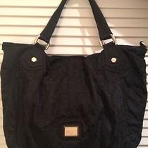 Marc by Marc Jacobs Preppy Nylon Faridah Black Hobo Tote Handbag Bag Satchel Photo