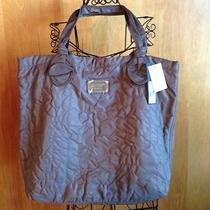 Marc by Marc Jacobs Quilted Pretty Nylon Tote Bag With Computer Slot Quartz 225 Photo