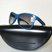 Marc by Marc Jacobs Royal Blue Women Sunglasses Set Cat Eye Fashion 100% Uv Nib Photo